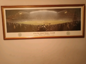 Celtic.F.C Framed Print Also a painting on canvas of The Lisbon Lions