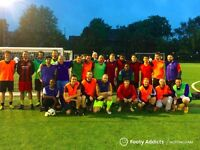 Play friendly, casual footy in Nottingham. Play when you want! 7-a-side