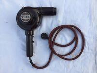 Collectable Bakelite Brown Vintage Xcel Rare Hair Dryer Brown, 1930's / 50's