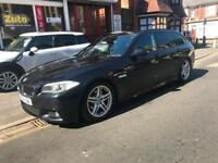 2012 BMW 520 2.0TD auto M Sport Touring leather nav xenons full history
