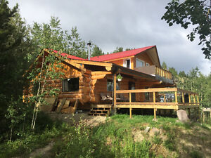 Log home for short term rental
