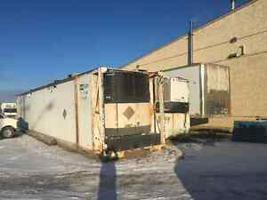 50' SEACAN with NEW 5hp FREEZER UNITS (Shipping containers)