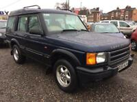2001 LAND ROVER DISCOVERY 2.5 Td5 Adventurer 7 SEATER DIESEL