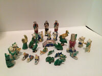 Minature oriental figurines