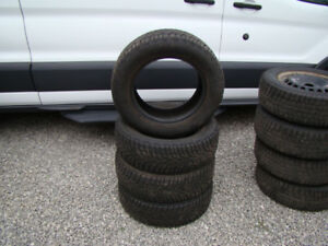 P195/65R15 Gislaved Nord Frost 4 Used Snow Tires