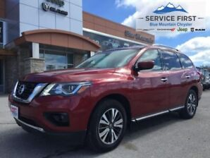 2017 Nissan Pathfinder S V6  - Sirius XM, Bluetooth