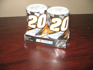 SALT AND PEPPER SHAKERS...ASSORTED NASCAR DRIVERS.. SEALED