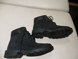 Timberland Black Booties youth
