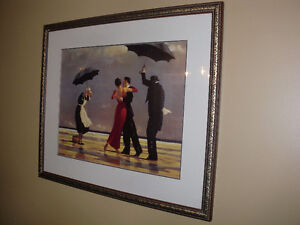 Bombay Company - Large framed print : The Singing Butler By: Jac
