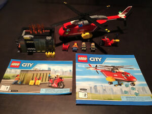 LEGO City 60108 Fire Response Unit - 100% Complete