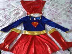 Girl's size M Supergirl costume