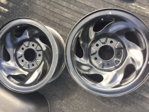 Pair of 1998 f150 rims for sale