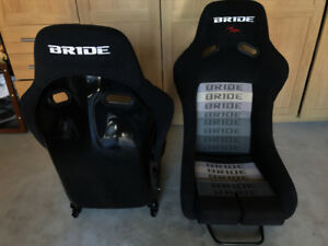 NEW BRIDE LOWMAX VIOS RACING SEATS FOR SALE