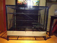 Cage spacieuse pour petits animaux