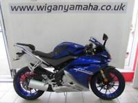 YZF-R125 ABS, 17 REG ONLY 5972 MILES, 125cc SPORTS BIKE WITH TAIL TIDY...