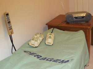 CERAGEM deep soothing massage bed