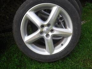 Mag Toyota et pneus