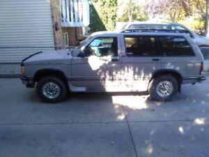 1994 Chevrolet Blazer SUV, Crossover