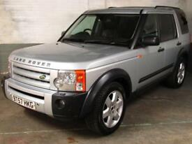 Nov 2007 LANDROVER DISCOVERY 3 2.7 TDV6 AUTO HSE SAT.NAV Elec.Htd.LEATHER 7 Seat