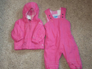 Girls 12 month Columbia snowsuit