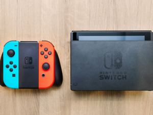 Nintendo Switch with all cables and accessory