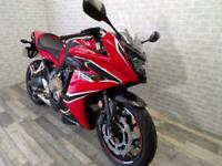 2018 (18) HONDA CBR650FA WITH ONLY 5395 MILES ONE OWNER FOR SALE