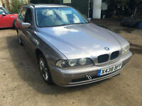 BMW 520 2.2i 2001MY i SE Touring SPARES OR REPAIR EXPORT SALVAGE