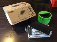 64GB iPod touch (4th gen) and motrr Galileo