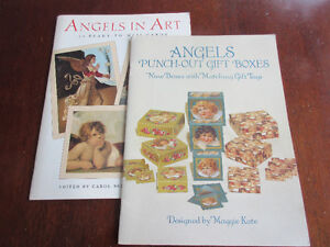 Angels 2 Books - Punch out gift boxes and 24 ready to mail cards