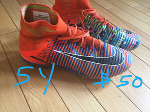 Various cleats/prices/sizes