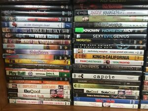 100's of Dvd's for sale