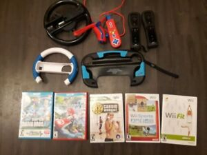 Wii and Wii U Games and Accessories