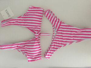 Zaful swimsuit bikini rose/pink