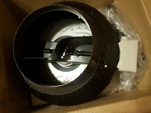 VORTEX/ INLINE FANS. 75$ for 6in. ducting. 100$ for 8in. ducting