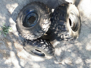 ATV Tires w/ Rims for Sale