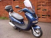 Peugeot Elyseo 150cc 1 year MoT No advisories / Possible swap for 125 maxi scooter.