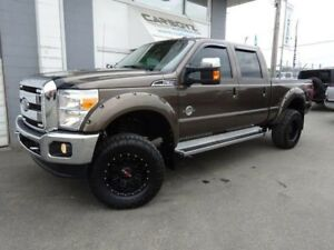 2016 Ford F-350 Lariat FX4 Crew, Diesel, LIFTED, 35 Inch Tires!!