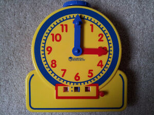 Like New Learning Resources Teaching Clock London Ontario image 1