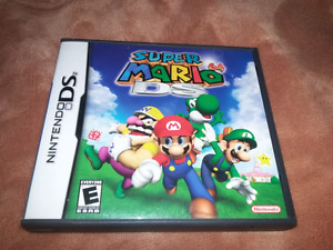 for sale super Mario 64 and Mario kart ds both games for 35 doll