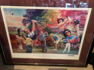 Golf Painting - Foursomes of the Century