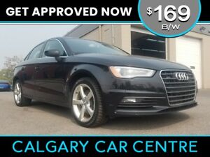 2015 Audi A3 $169B/W TEXT US FOR EASY FINANCING! 587-582-2859