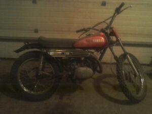 1969 YAMAHA CT1 175 ENDURO VINTAGE MOTORCYCLE $750.