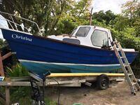 Fishing boat. 20 foot
