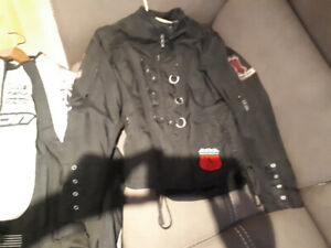 Womens motorcycle jacket and pants