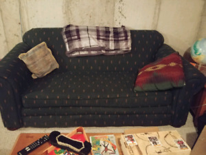 Couch- loveseat- chair. FREE