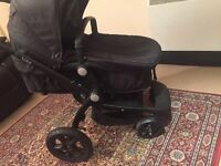 Kiddicare tate pram and pushchair in very good condition