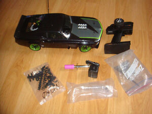RC HPI RS4 1/10 NITRO FORD MUSTANG SPRINT 2 DRIFT CAR LIKE NEW