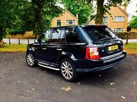 Land rover range 2.7 diesel sport 120k CAT D £8895 FULLY LOADED SWAPS ONLY FOR AUTO