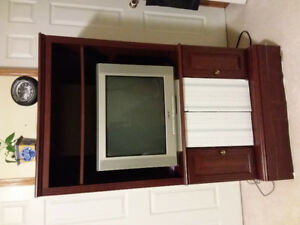 TV Stand set for sale ( TV include)