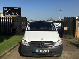 2013 13 MERCEDES-BENZ VITO 2.1 113CDI 136BHP LWB LONG. VERY LOW 48,000 MILES. FS